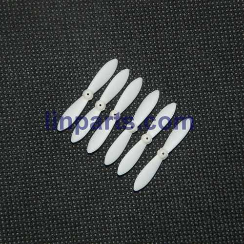 MJX X900 X901 3D Roll 2.4G 6-Axis First Nano Hexacopter Spare Parts: Main blades set[White]
