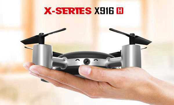 MJX X916H WIFI HD Camera FPV 2.4G 6-AXIS GYRO RC Quadcopter