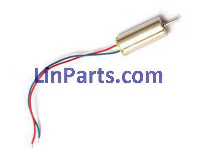 MJX X909T X-SERIES RC Quadcopter Spare Parts: Main motor set [blue/red line]
