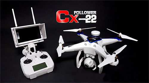 store news cheerson cx 22 follow me 4ch 6 axis dual gps rh linparts com Harbor Breeze Wiring Schematic Quadcopter Design