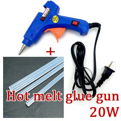 20W Hot melt glue gun [110V-240V] + 5pcs Glue Sticks