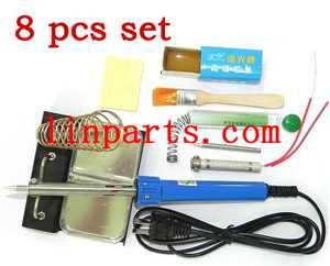 8-in-1 60W Soldering iron kit set