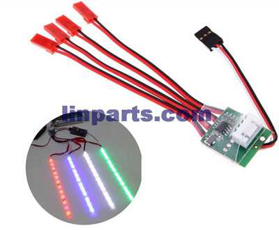 Four-axes/Multi axis LED light controllers(Operating voltage: 4S Battery(11.1V))