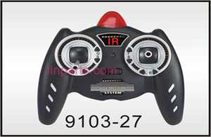 Shuang Ma/Double Hors 9103 Spare Parts: Remote Control\Transmitter