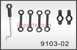 Shuang Ma/Double Hors 9103 Spare Parts: Connect buckle set