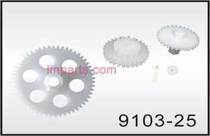 Shuang Ma/Double Hors 9103 Spare Parts: Gear set