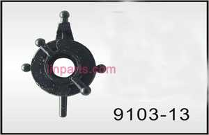 Shuang Ma/Double Hors 9103 Spare Parts: Swash plate