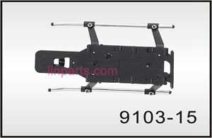 Shuang Ma/Double Hors 9103 Spare Parts: Undercarriage\Landing skid