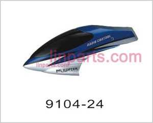 Shuang Ma/Double Hors 9104 Spare Parts: Head cover\Canopy(Blue)