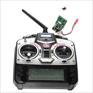 Shuang Ma/Double Hors 9117 Spare Parts: Remote Control\Transmitter and PCB\Controller Equipement
