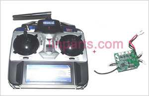 Shuang Ma 9128 Spare Parts: Remote Control\Transmitter and PCB\Controller Equipement