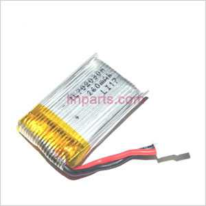 Shuang Ma 9128 Spare Parts: Battery(3.7v 260mAh)