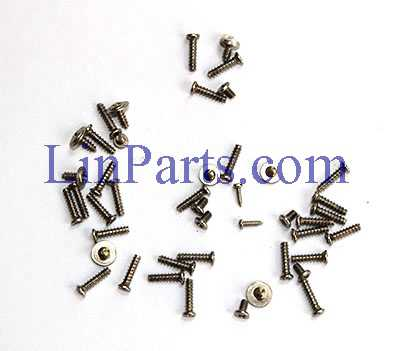 SJ R/C S70W RC Quadcopter Spare Parts: Screw package set