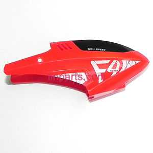 SYMA F4 Spare Parts: Head cover\Canopy(Red)