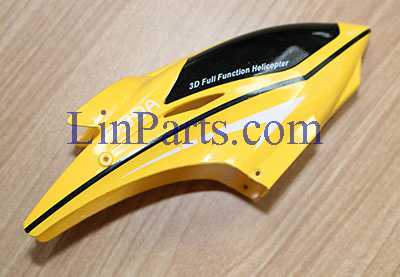 [New version]SYMA S39 RC Helicopter Spare Parts: Head cover/Canopy(Yellow)
