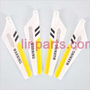 SYMA S107 S107C S107G Spare Parts: main blade(Yellow)