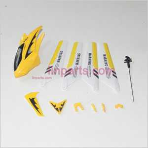 SYMA S107 S107C S107G Spare Parts: Beautiful clothes set(Yellow)