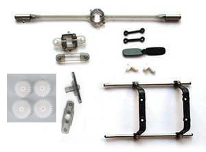 SYMA S107H RC Helicopter Spare Parts: Big collection parts