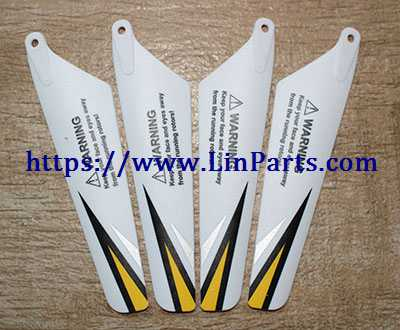 SYMA S107H RC Helicopter Spare Parts: Main blade [Yellow]
