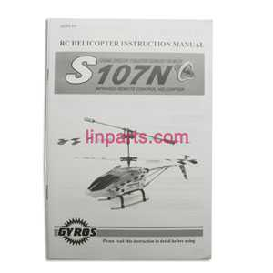 SYMA S107N Spare Parts: Manual book