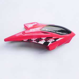 SYMA S107N Spare Parts: Head cover\Canopy(Red)