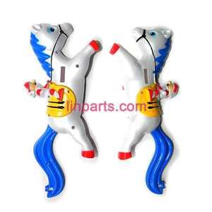 SYMA S2 Spare Parts: Full body(Blue)