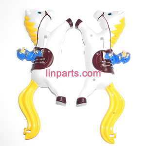 SYMA S2 Spare Parts: Full body(Yellow)