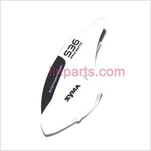 SYMA S36 Spare Parts: Head cover\Canopy(White)