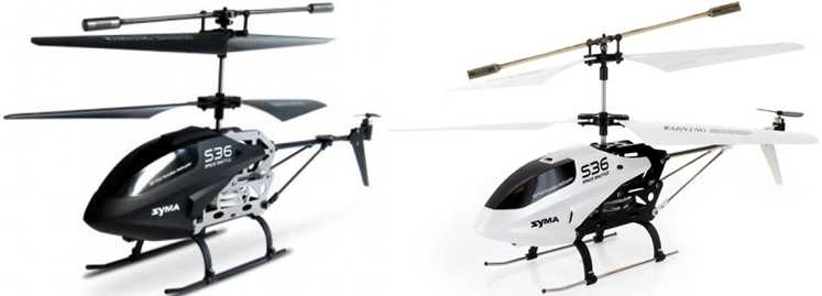 SYMA S36 RC Helicopter