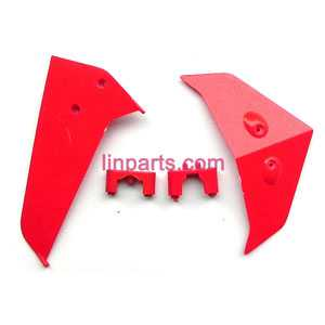 SYMA S37 Spare Parts: Tail decorative(Red)