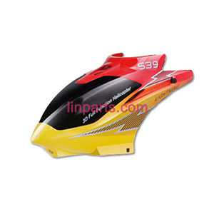 SYMA S39 Spare Parts: Head cover/Canopy(Yellow)