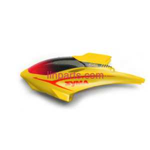 SYMA S5 Spare Parts: Head cover/Canopy(yellow)