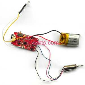 SYMA S5 Spare Parts: Main motor set+PCB/Controller Equipement+Battery+Head Light