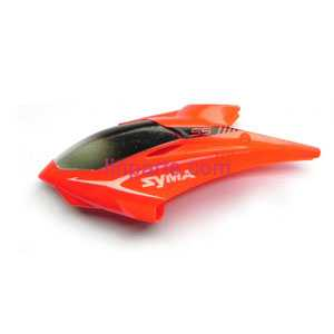 SYMA S5 Spare Parts: Head cover/Canopy(Red)