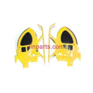 SYMA S6 Spare Parts: Full body(Yellow)