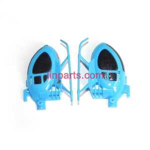 SYMA S6 Spare Parts: Full body(Blue)