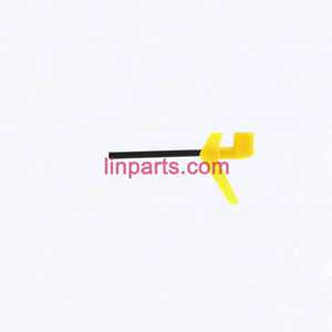SYMA S6 Spare Parts: Tail big pipe+Tail decorative(yellow)