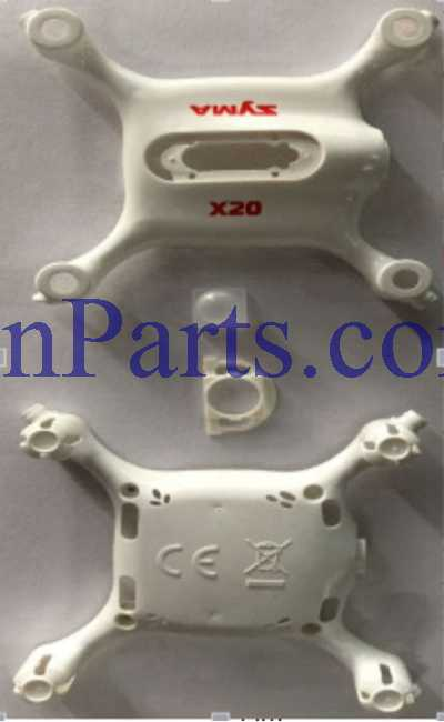 SYMA X20 RC Quadcopter Spare Parts: Fuselage [White]