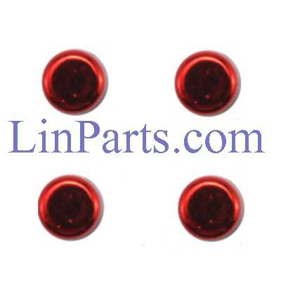 SYMA X20 RC Quadcopter Spare Parts: Main body fasteners[Red]
