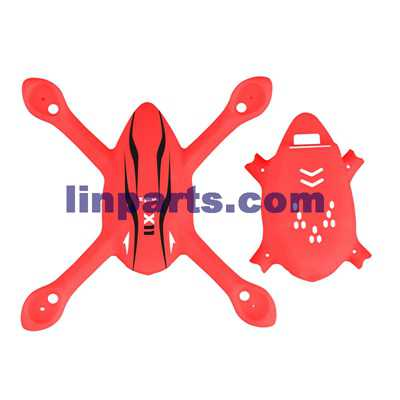SYMA X11 X11C 4CH R/C Remote Control Quadcopter Spare Parts: Fuselage [red]