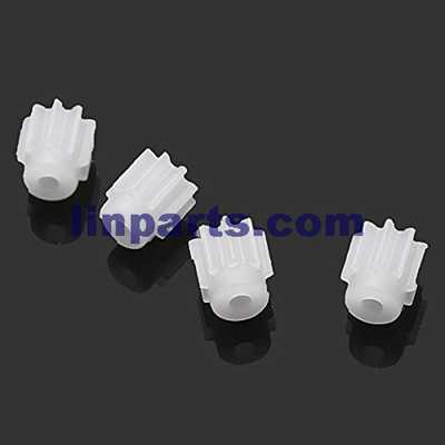 SYMA X11 X11C 4CH R/C Remote Control Quadcopter Spare Parts: 4pcs small gear[for Main motor]