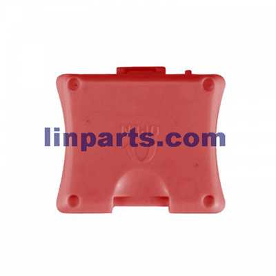 SYMA X13 4CH R/C Remote Control Quadcopter Spare Parts: Battery cover[red]