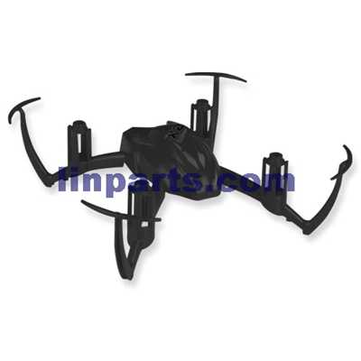 SYMA X2 4CH R/C Remote Control Quadcopter Spare Parts: Upper body[black] - Click Image to Close