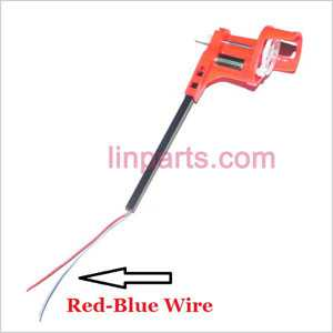 SYMA X3 Spare Parts: Side set( Red/Blue wire)