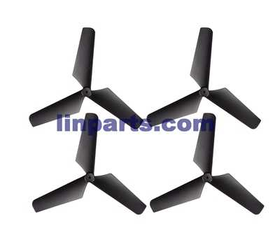 SYMA X4 4 ch remote control quadcopter Spare Parts: Blades[black]