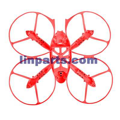 SYMA X4S 4CH R/C Remote Control Quadcopter Spare Parts: Fuselage [red]
