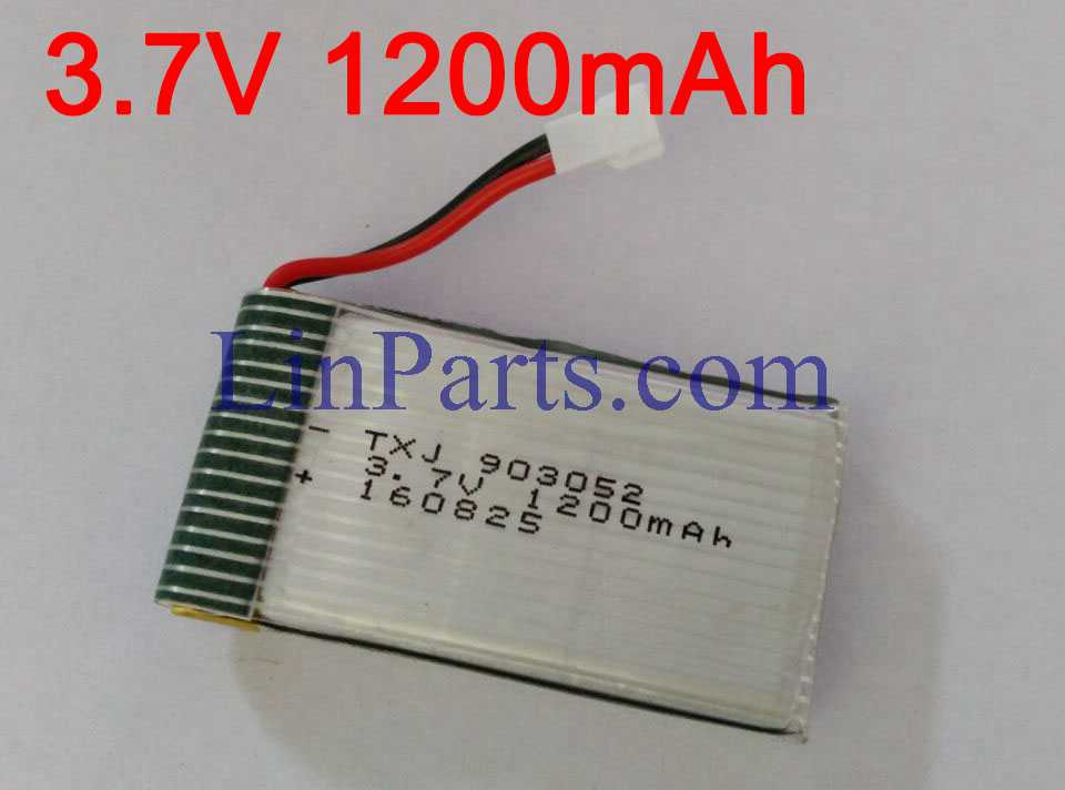 SYMA X5C Quadcopter Spare Parts: Battery 3.7V 1200mAh