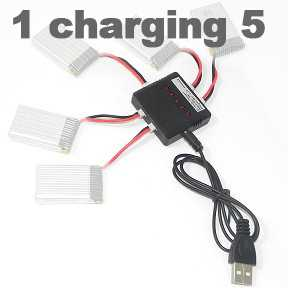SYMA X5C Quadcopter Spare Parts: Battery Charger Kit /1 charging 5