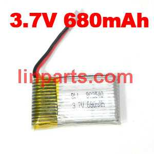 3.7V 680mAh Battery (Air-to-air plug)