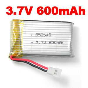 3.7V 600mAh Battery (Air-to-air plug)